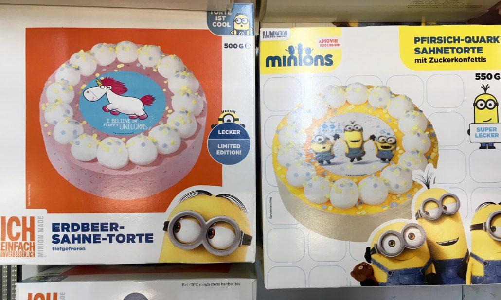 Minions Einhorn Torte Universal Illumination Entertainment