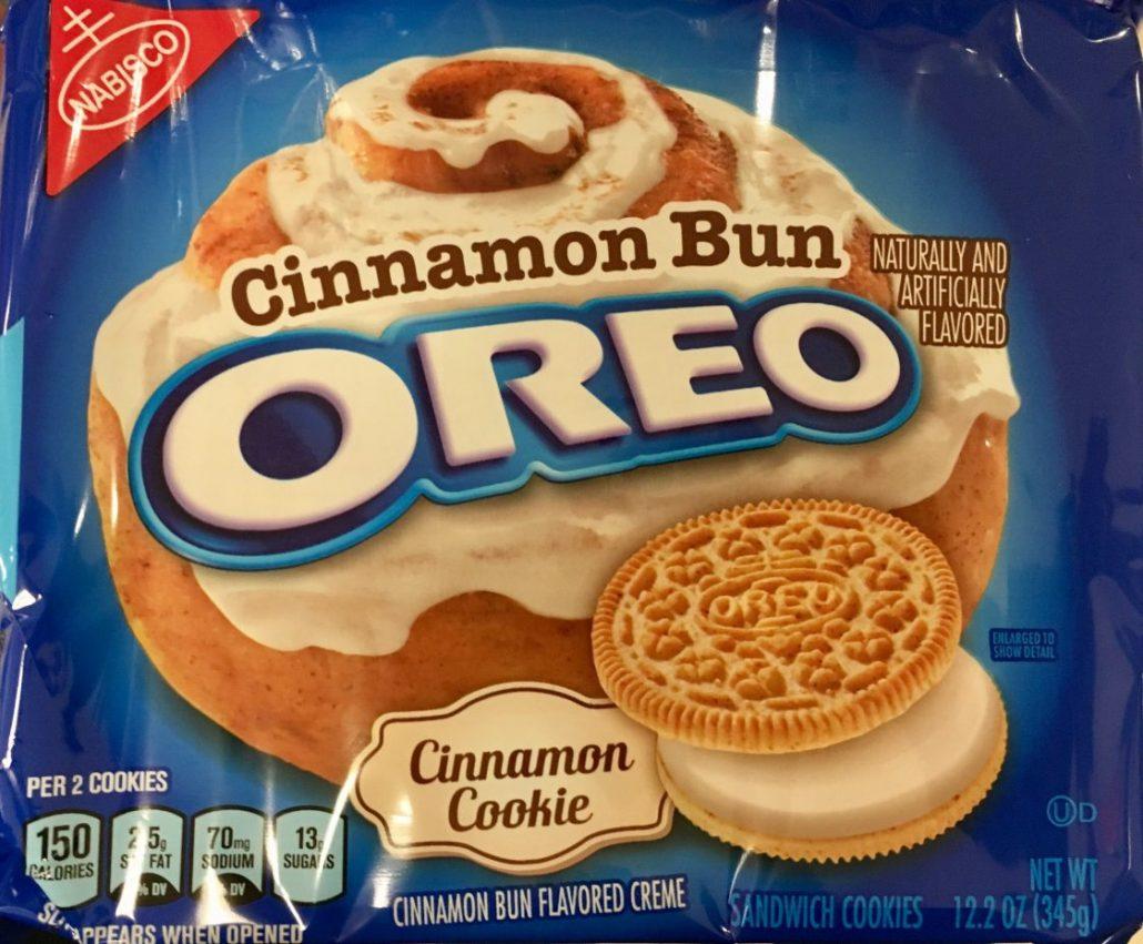 Oreo cinnamon Bun