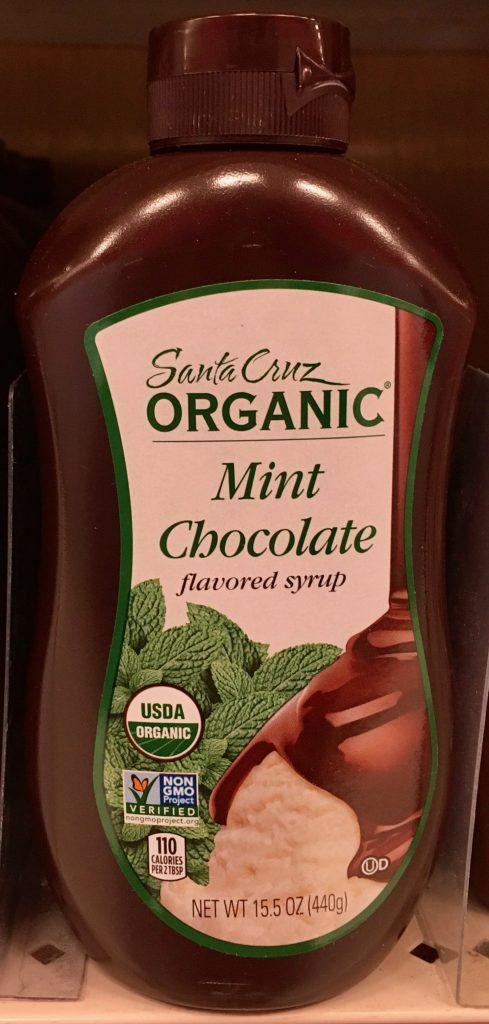Organic Mint-Chocolate Sauce