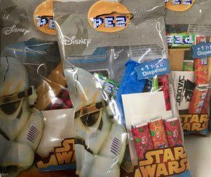 PEZ Beutel mit Nachfüllung Star Wars
