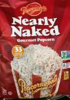 Popcornopolis Popcorn Nearly Naked salted