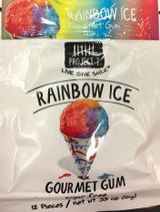Rainbow Ice Kaugummi
