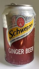 Schweppes Ginger Beer in der Dose