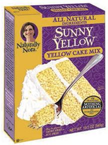 Sunny Yellow Cake Mix