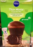 Pillsbury Cupcakes Thin Mints