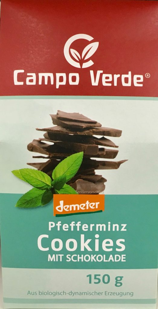 Campo Verde Pfefferminz Cookies mit Schokolade