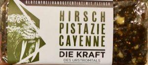 Die Kraft des Urstromtals: Hirsch Pistazie Cayenne