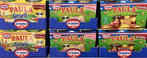 Dr Oetker Paula Pudding und Griespudding