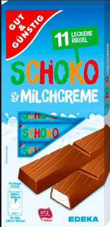 Gut und Günstig Schoko+ Milchcreme Edeka