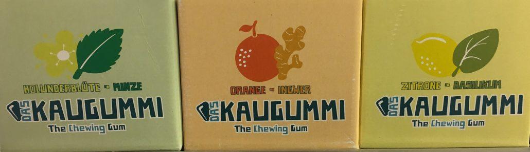 """""""Das Kaugummi"""" The Chewing Gum Holunderblüte-Minze"""