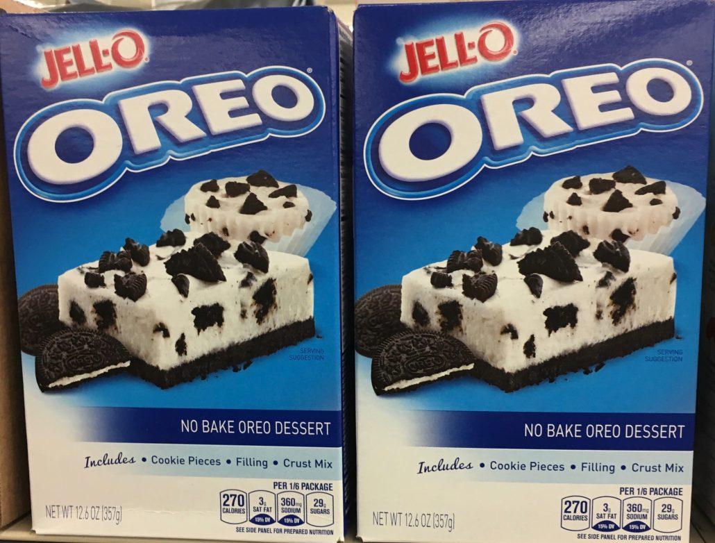 Jello-O Oreo Readymake Dessert