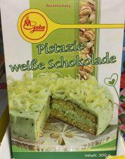 Geha Pistazien-Kuchen mit weißer Schokolade