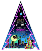 Lindt Hello Adventskalender Pyramide
