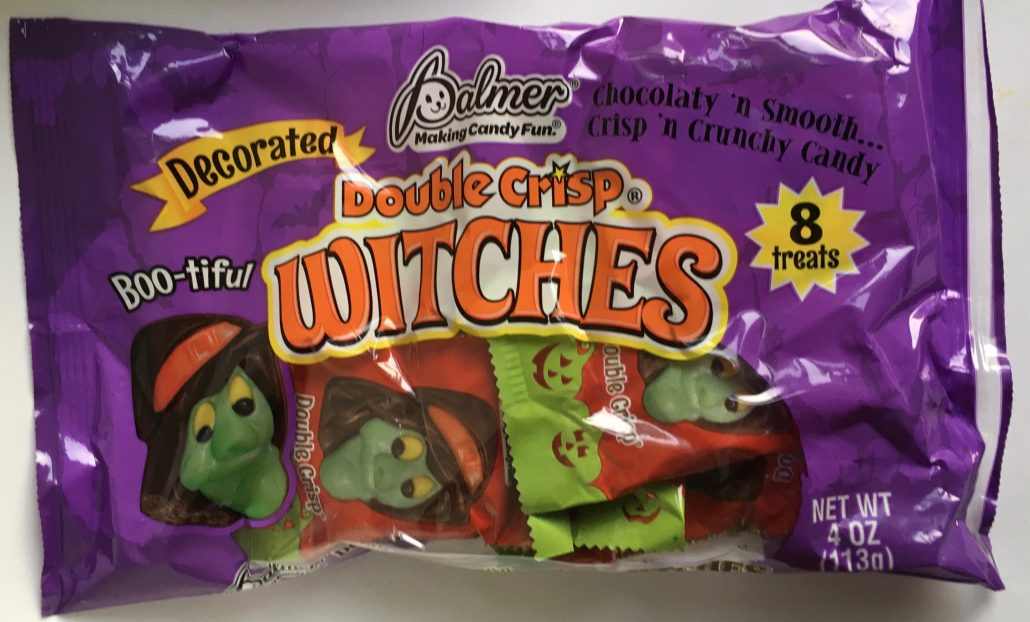 Palmer Double Crisp Witches Halloween