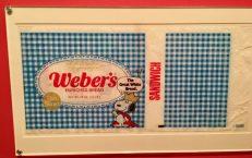 Peanuts Snoopy Weber's Bread