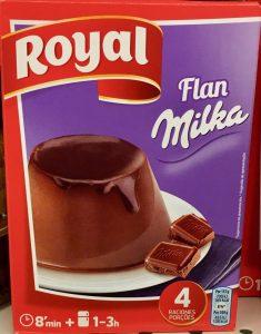 The Royal Baking Powder Company Milka Flan