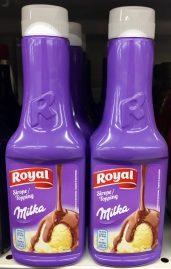 Royal Milka Soße Sauce