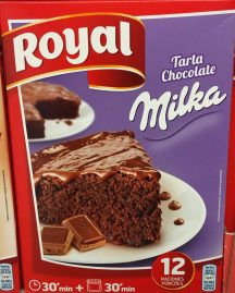 Royal Milka Tarte Backmischung