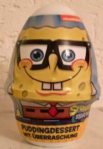 Spongebob Pudding mit Geschenk
