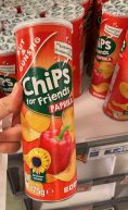 EDEKA Gut+Günstig Stapelchips Chips for Friends Paprika Sonnenblumenöl 175G