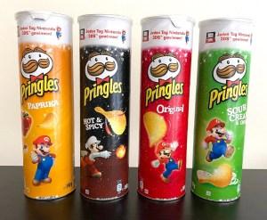 Pringles Nintendo Marios Bros Edition 190G