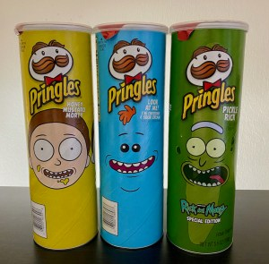 Pringles Special Edition Rick and Morty