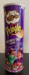 Pringles Thai Sweet Chilli Flavour mit Menschenmotiv 200G