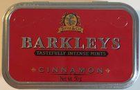 Barkleys Intense Mints Cinnamon Mint Zimt