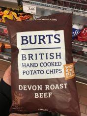 Burts Chips Devon Roast Beef