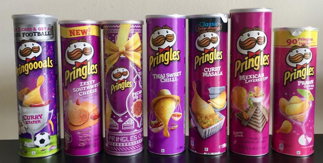Pringles Lila Verlauf