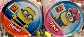 Pulmoll Bonbons Dose Minionsmotiv