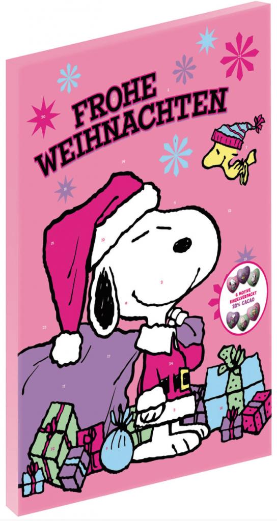 Snoopy Peanuts Adventskalender | naschkater.com