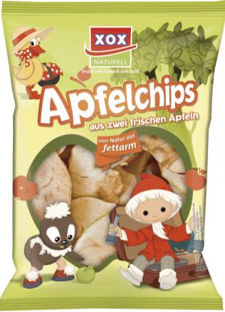 XOX Apfelchips Sandmännchen