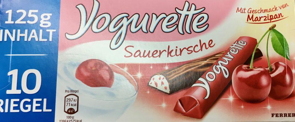 Yogurette Kirsch-Marzipan Ferrero