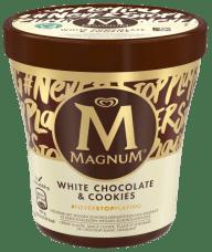 Magnum Eis Pint White Chocolate+Cookies