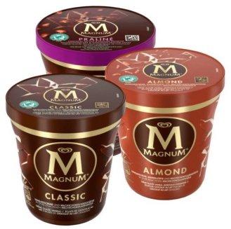 Magnum Eis Pints Classic-Almond-Praliné