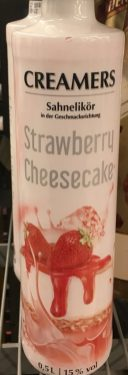 Creamers Sahnelikör Strawberry Cheesecake