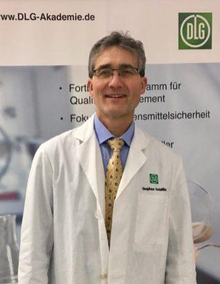 Sensorik Seminar an der DLG-Akademie, Dozent Stephan Schöller