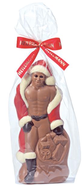 Heilemann Sexy Weihnachtsmann aus Schokolade