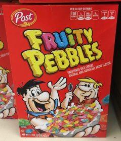 Posts Flintstones Fruity Pebbles