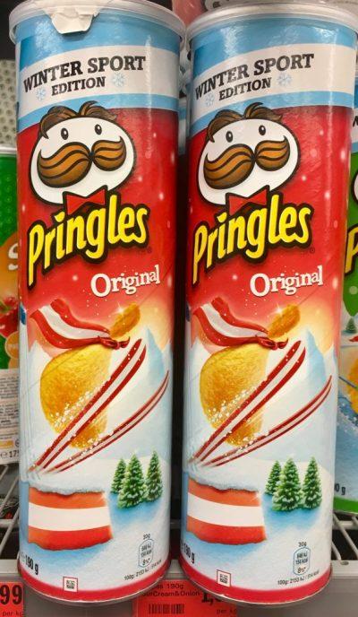 Pringles Original Österreich Winter Sport