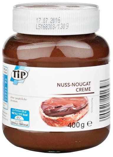 Nuss-Nougat-Creme von real tip