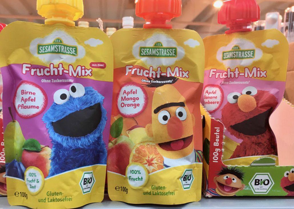 Sesamstrasse Frucht-Mix