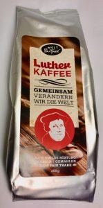 WeltPartner Luther Kaffee Fair TRade 250 Gramm