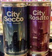 """Prosecco in der Dose """"City Secco"""" in Weiß und Rosé-Varianten"""