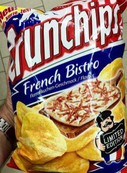 Crunchips French Bistro Flammkuchen-Geschmack
