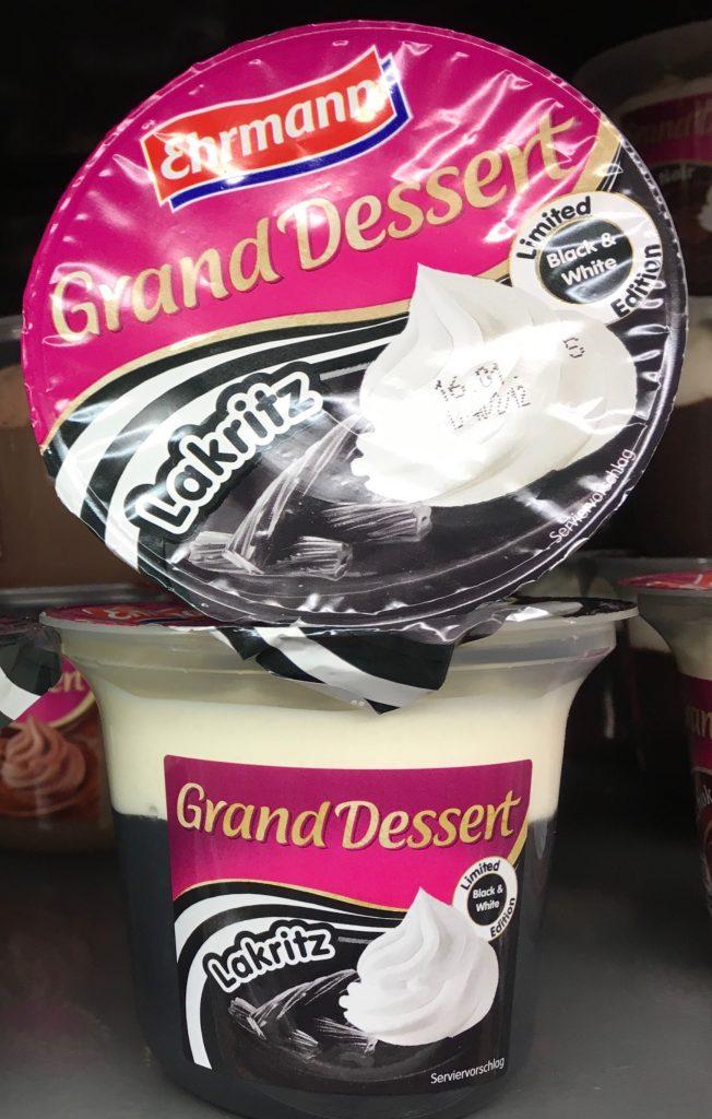 Ehrmann Grand Dessert Lakritz