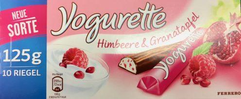 Ferrero Yogurette Himbeer-Granatapfel