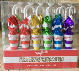 Küfferle Schoko-Schirmchen Regenbogen