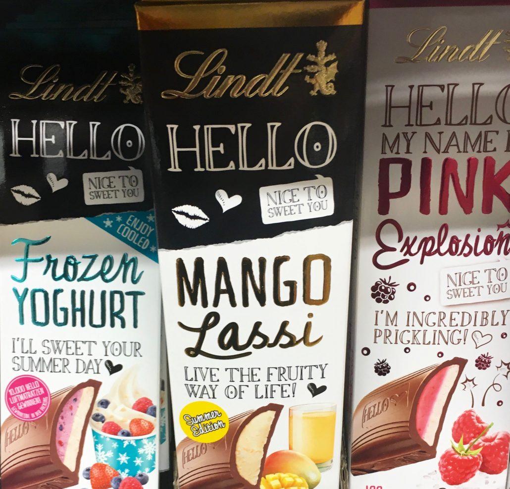 Lindt Hello Frozen Joghurt Mango Lassi Pink Explosion